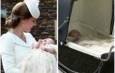 Neeilinė staigmena princesės Charlotte krikštynose (FOTO)