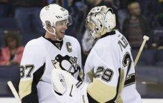 Sidney Crosby ir Marcas-Andre Fleury