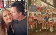 Praėjus 30 metų: pamatęs jos vaikystės nuotraukas, vyras neteko žado