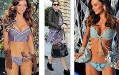 Victoria`s Secret angelai prieš ir po nėštumo