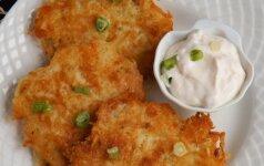 Traškūs bulvių ir sūrio blynai