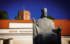 Karaliaus Mindaugo skulptūra