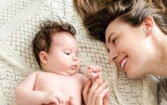 Ar naujagimis pažįsta savo mamą ir atskirtų ją tarp kitų?