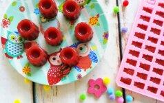 Naminiai guminukai, kuriuos vaikams galima duoti be sąžinės graužimo