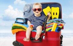Į šiltus kraštus su kūdikiu: jei tai žinosite, kelionė bus lengva