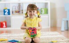 Lavinamieji žaidimai vaikams, kurie padės išmokti spalvas