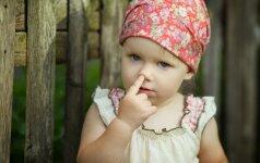 Nedrauskite vaikams krapštyti nosies – tam yra svari priežastis