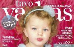 Rekordas - gruodžio TAVO VAIKO žurnalas net 132 p.!