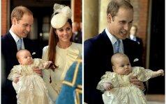 Karališkasis kūdikis George jau pakrikštytas! FOTO
