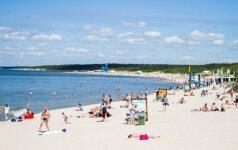 Palangos paplūdimyje šįmet – viliojanti naujovė