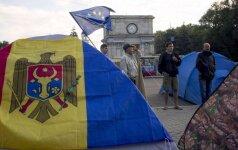 Молдавия отметила День независимости протестами