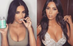Gėdą patyrusi Kim Kardashian suskubo persirengti