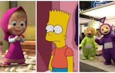 Ką privalu žinoti apie animacinius filmus: psichiatro L. Slušnio įspėjimas tėvams