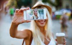 LAIMĖK naująjį Alcatel A5 LED mobilųjį telefoną