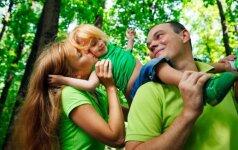 TESTAS: kokie esate tėvai