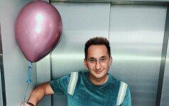 Orijus Gasanovas: mane suviliojo neįprastas šokolado skonis
