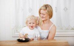 Kai mamoms ne tas pats, ką valgo jų vaikai