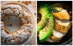 Savaitgalio receptai: plikytos tešlos pyragas ir vištienos ir daržovių sriuba su avokadu