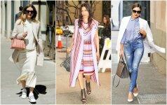 6 mados kryptys stilingam pavasario garderobui