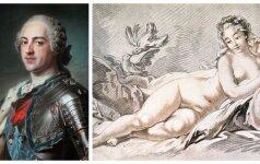 Europietiškas haremas: nepilnametės karaliaus Liudviko XV sugulovės