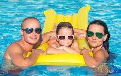 TOP 5 kelionių kryptys atostogoms su mažais vaikais