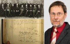 Дипломаты Литвы выясняют правой статус акта 16 февраля 1918 года