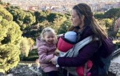 Ką iš tiesų reiškia būti dviejų vaikų mama