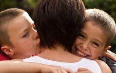 Gausios šeimos mama: kaip rasti laiko apkabinti kiekvieną