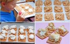 Šiek tiek fantazijos: kaip paprasti sausainiai virto įspūdingu patiekalu