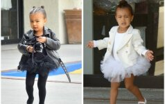 Kim Kardashian pasidalino žavia dukrytės akimirka (FOTO)