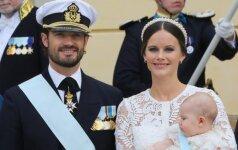 Įspūdingiausios nuotraukos iš Švedijos karališkųjų krikštynų