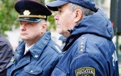 Latvijos policijos pareigūnai