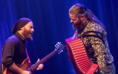 Tarptautinio akordeono festivalio uždaryme – rokeriškas armonikos siautulys