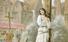 Istoriją pakeitusi mergelė. Už ką iš tiesų sudegino Jeanne d'Arc? Šventoji ar žmonių kraujo troškusi ligonė - kas iš tiesų buvo Žana d