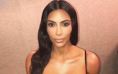 Beskonybės viršūne išvadinta Kim Kardashian suknelė dabar - stiliaus viršūnė
