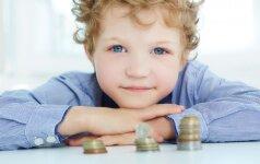 10 finansų taisyklių vaikams, kurių gali išmokyti tėvai
