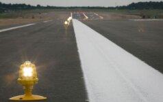 В Вильнюсском аэропорту после реконструкции совершил посадку первый пассажирский самолет