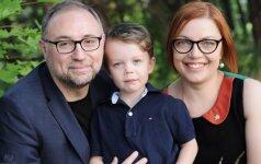Italas Dario: su žmona nusprendėme sūnų maitinti vegetariškai