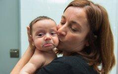 Vis daugiau moterų gimdo vaikus būdamos skaisčios (+apklausa)