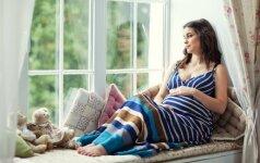 16 nėštumo savaitė: būsimasis vaikelis sveria apie 100 gramų