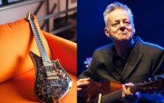 Jaunam gitarų kūrėjui - pasaulinio garso muzikanto pripažinimas
