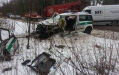 На дороге Пагегяй-Клайпеда в ДТП погиб полицейский