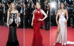 Kanų kino festivalio raudonojo kilimo stilius
