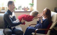 Tomas Slausgalvis: vyrams suvokti vaikelio laukimą sunkiau