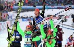 Биатлонисты Германии победили в медальном зачете ЧМ, у Норвегии — антирекорд