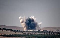 Артиллерия и ВВС Турции вновь наносят удары по курдам на севере Сирии