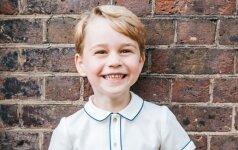 Princas George švenčia 5 metų gimtadienį ir turi dovaną savo gerbėjams