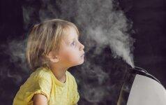 5 priežastys įsigyti oro drėkintuvą