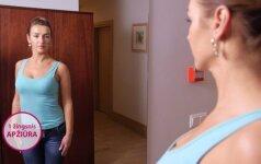 Kaip apčiuopti krūtis, moko pirmasis edukacinis video klipas