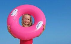 Mokome vaiką plaukti: trenerės patarimai